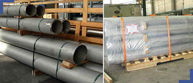 Stainess Steel IBR Pipes & Tubes Packaging